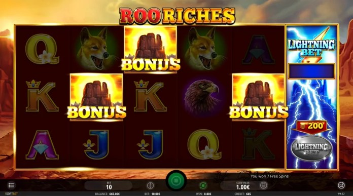 Roo Riches by iSoftBet Gameplay