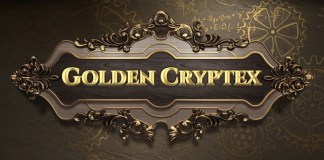 Golden Cryptex by Red Tiger Logo
