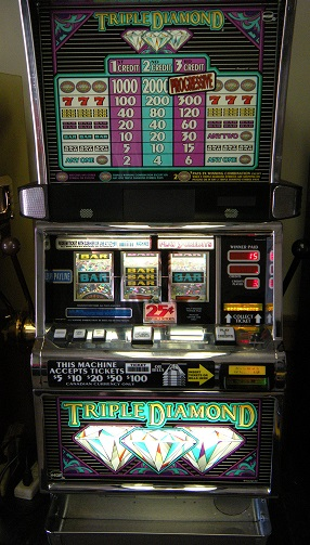 Triple Diamond  Slot Machines Unlimited