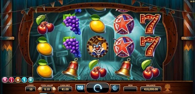 Игровой автомат Wicked Circus