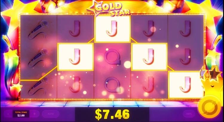Игровой автомат Gold Star