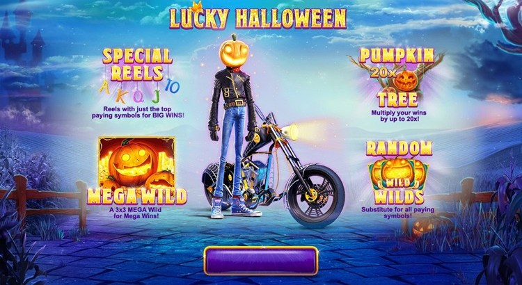 Игровой автомат Lucky Halloween