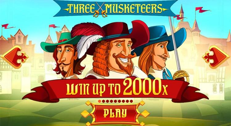 Игровой автомат Three Musketeers