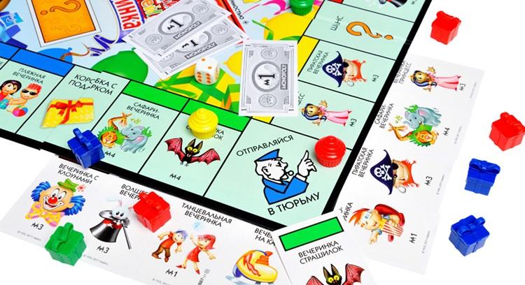 детская экономическая игра Монополия правила