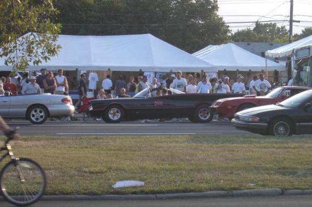 THe original 1960s TV Batmobile (image courtesy of david.sickmiller.com)