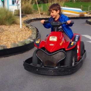 Butlins Toby dune buggy