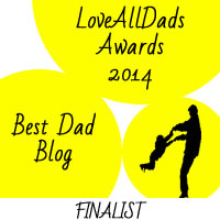 LoveAllDads Awards 2014 Best Dad Blog logo