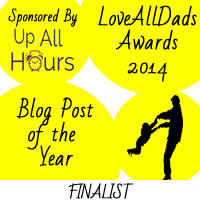 LoveAllDads Awards 2014 Blog Post of the Year logo