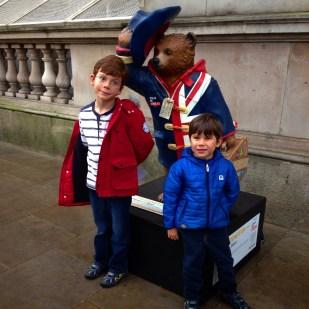 Isaac Toby Paddington Bear Downing Street