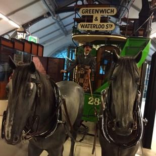 Horse-drawn omnibus