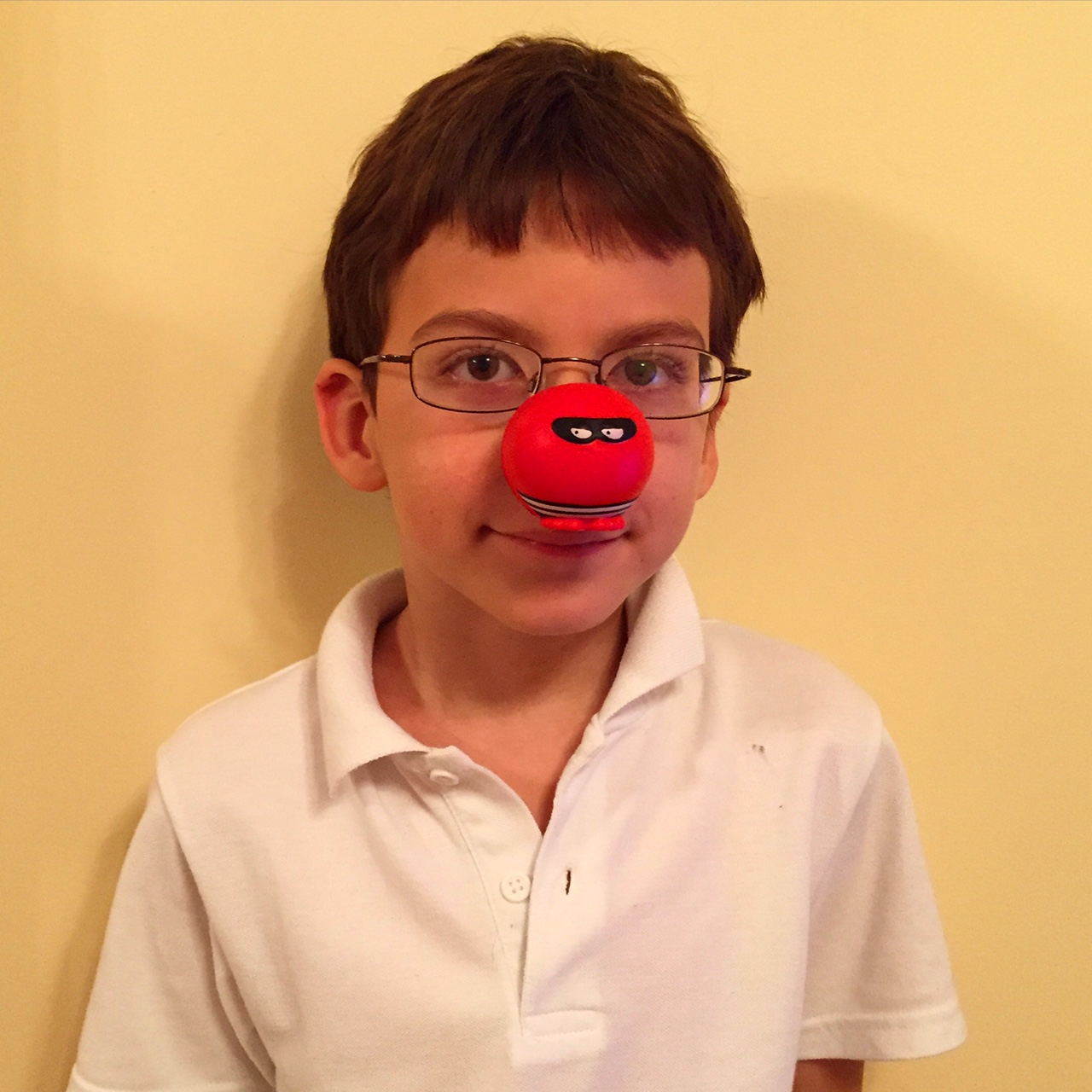 Isaac Red Nose Day