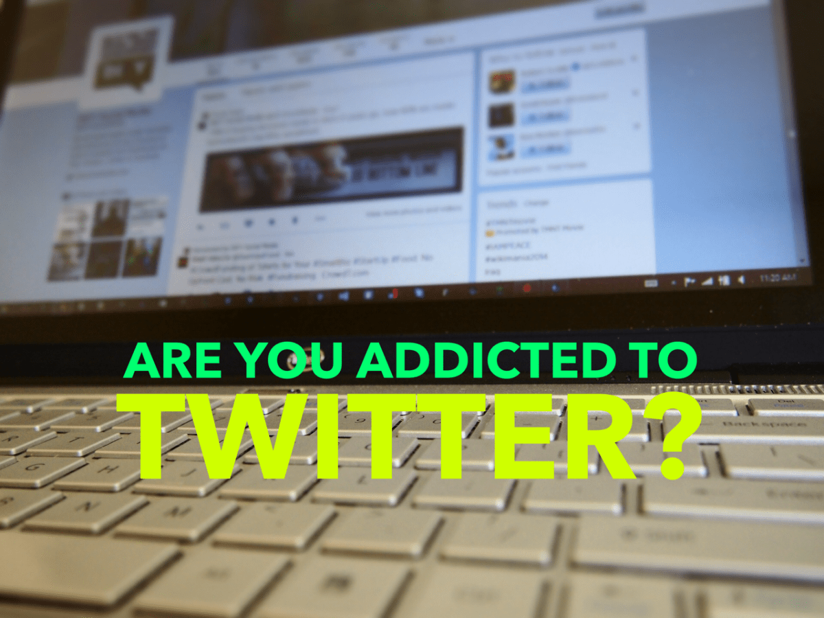 Quiz: 25 signs you're addicted to Twitter