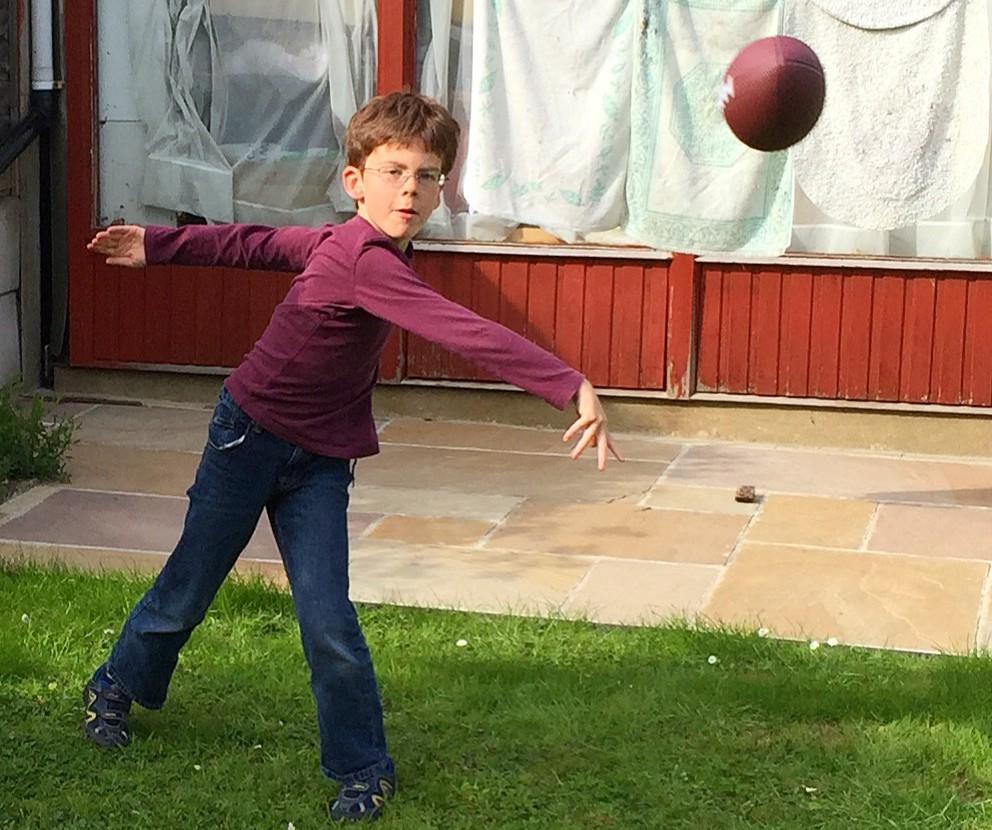 Isaac the quarterback