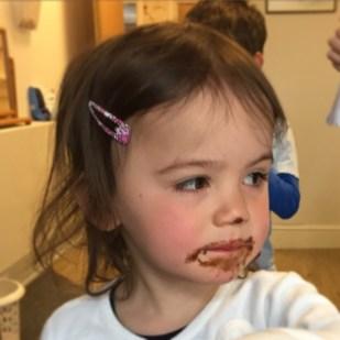 Kara chocolate face