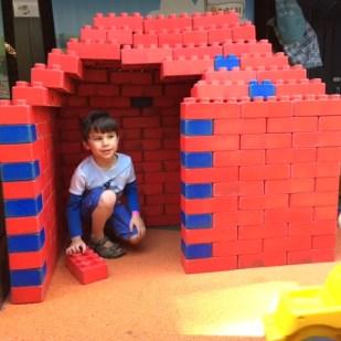Toby Lego house