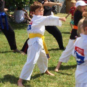 Isaac martial arts demo
