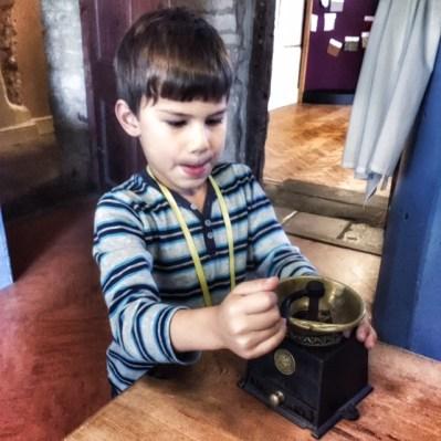 Toby coffee grinder