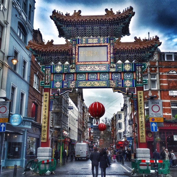 Chinatown London gate