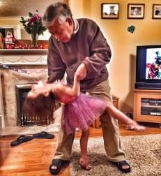 Grandpa Kara dancing