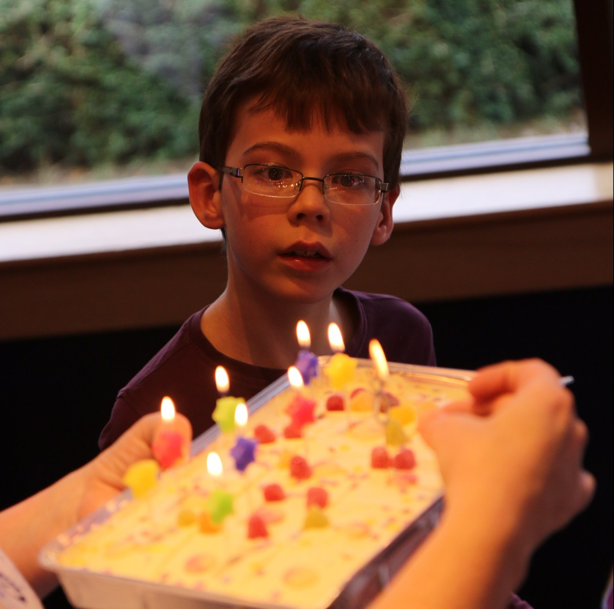 A birthday letter to my 8-year-old son