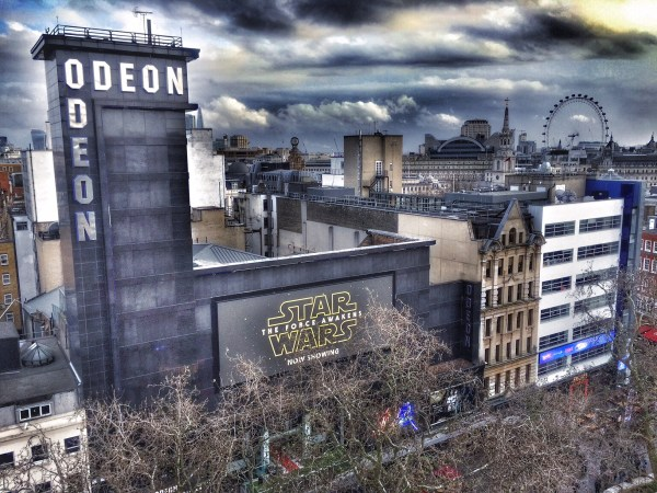 Odeon Leicester Square Star Wars The Force Awakens