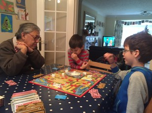 Isaac Toby Grandpa Game of Life