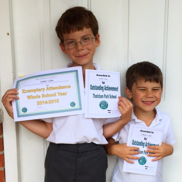 Toby achievement award