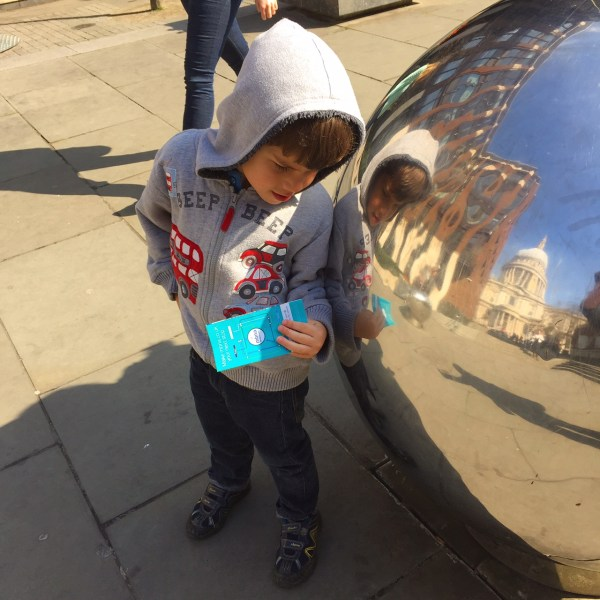 Toby London St Paul's reflection