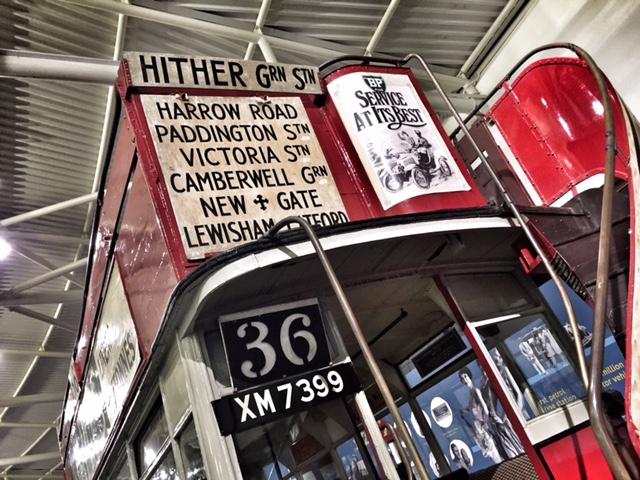 British Motor Museum bus