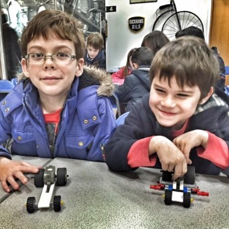 British Motor Museum Lego racers