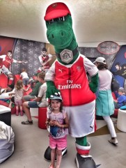 Camp Bestival Kara and Gunnersaurus