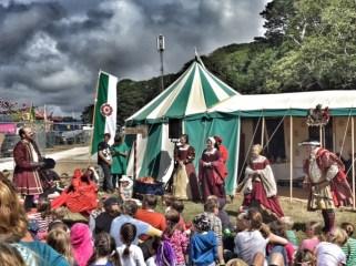 Camp Bestival Tudors
