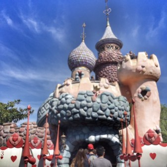 Disneyland Paris Alice castle