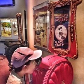 Disneyland Paris Toby watching film
