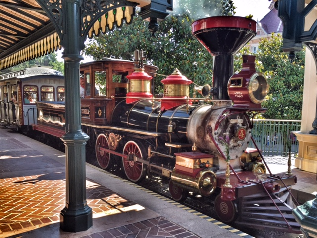 Disneyland Paris train
