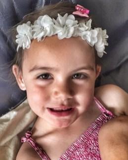 Kara floral headband