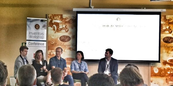 (l tor): BBC Radio 1's Matt Edmondson (Obama Llama), Karen Kilpatrick (JazWings), Xu Xiaojun (Studio Gobo), Frances Cain (A Girl For All Time)