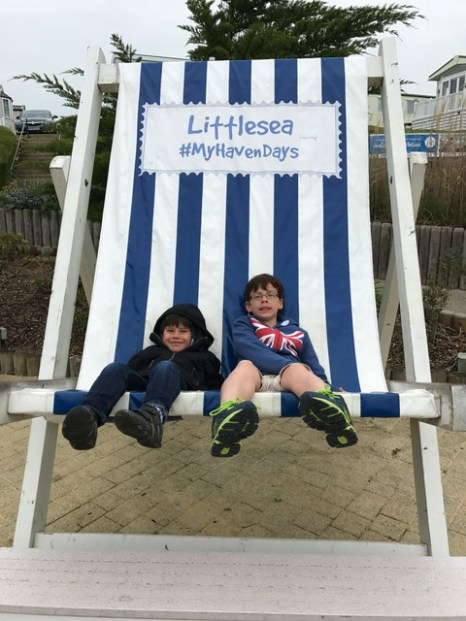 Weymouth Haven giant deckchair Toby Isaac
