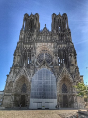 Summer holiday 2017 Reims cathedral