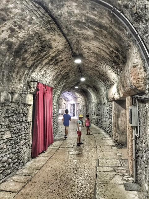 Summer holiday 2017 Verona Arena corridor