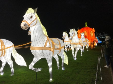 Longleat Festival of Light Cinderella carriage