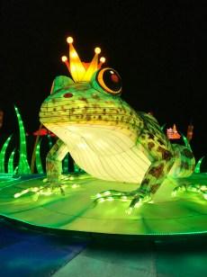 Longleat Festival of Light Frog Prince