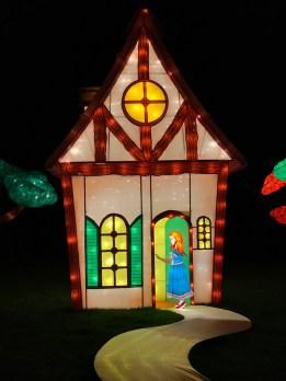 Longleat Festival of Light Goldilocks