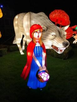 Longleat Festival of Light Little Red Riding Hood