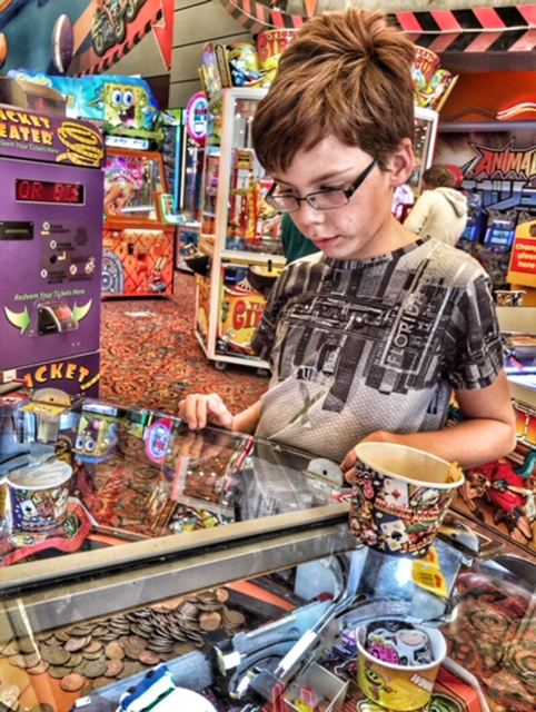 Butlins Bognor Regis 2017 Isaac arcade