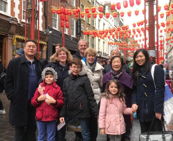 Easter 2018 Chinatown family picture
