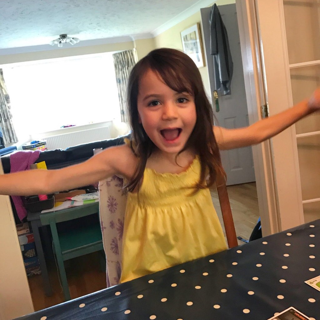 Kara enthusiastic