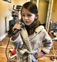 Kara 6th birthday, six years old