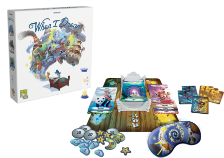 When I Dream table-top game Repos Asmodee