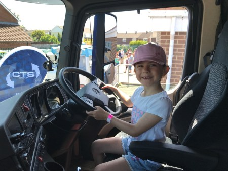 School summer fete Kara trucker